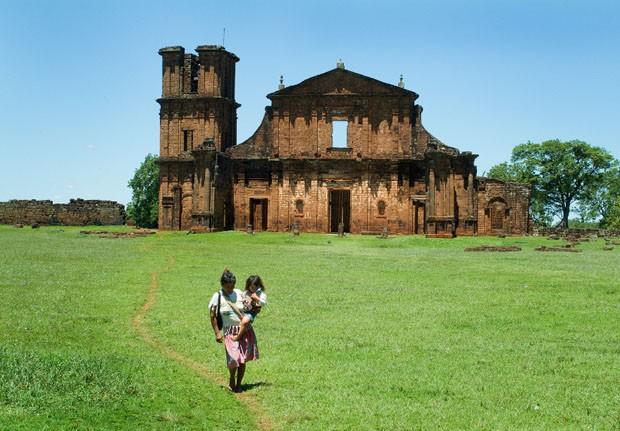 Documentacao das Missoes Jesuiticas no Rio Grande do Sul, para IPHAN (Foto: Divulgação/Iphan)