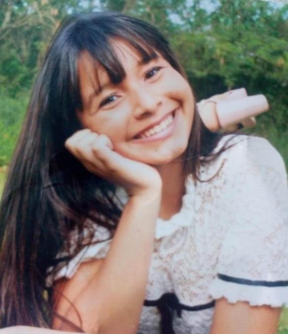 Jovem desaparecida entra em contato e mãe afirma não reconhecer a filha: 'Mentira' — Foto: Arquivo Pessoal