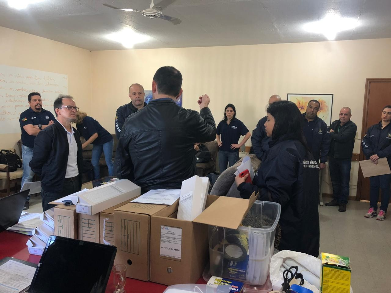 MP realiza operação de blindagem de concurso público em Garibaldi  - Notícias - Plantão Diário