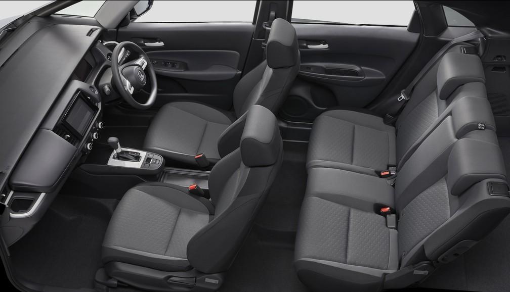 Interior of the new Honda Fit - Photo: Divulgação / Honda
