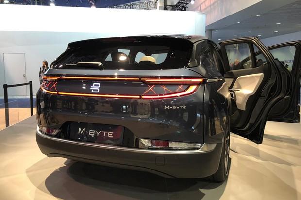 Byton apresenta versão de produção de SUV elétrico com tela de 48 polegadas (Foto: Michelle Ferreira / Autoesporte)