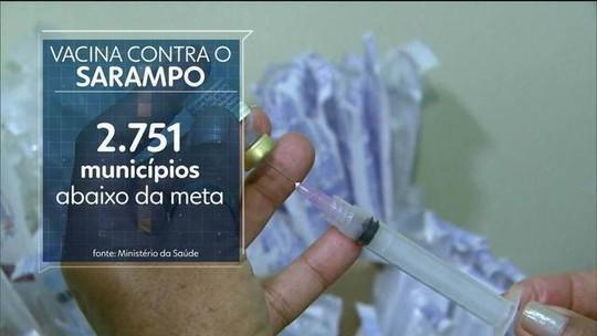 ONU emite alerta pelo avanço de sarampo no mundo