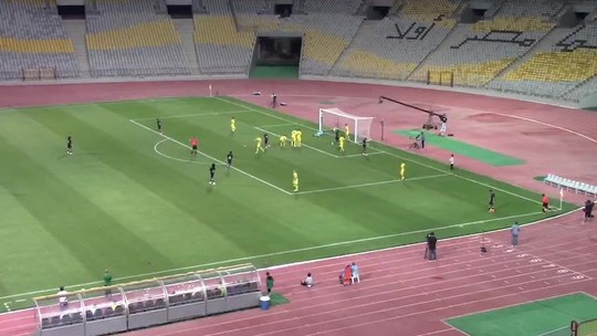 Atacante Ribamar estreia com gol de cabeça em time egípcio