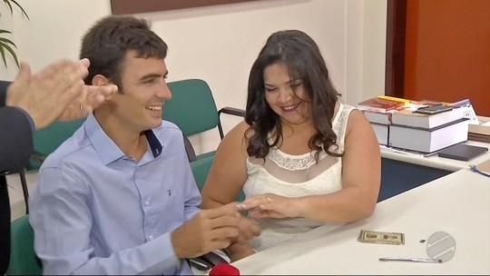 Mutirão realiza 432 casamentos em Naviraí, MS