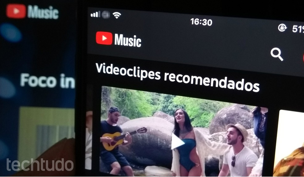 Como baixar vídeos do YouTube Music no celular Android ou iPhone — Foto: Rodrigo Fernandes/TechTudo