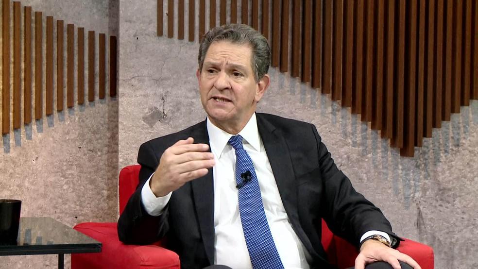 Ministro João Otávio de Noronha, presidente do STJ — Foto: Reprodução/GloboNews