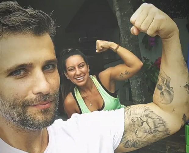 Bruno Gagliasso e Nat Queiroz (Foto: Reprodução/Instagram)