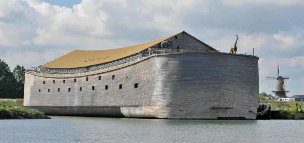 Foto da arca contruída pelo holandês Johan Huibers (Foto: Divulgação)