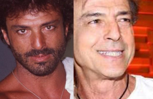 """Carlos Alberto Riccelli viveu Nô, um pescador que é cobiçado pelas mulheres e leva consigo uma maldição relacionada ao amor. Atualmente, ele faz parte do elenco da série """"A vida secreta dos casais"""" (HBO) (Foto: TV Globo - Reprodução/Instagram)"""