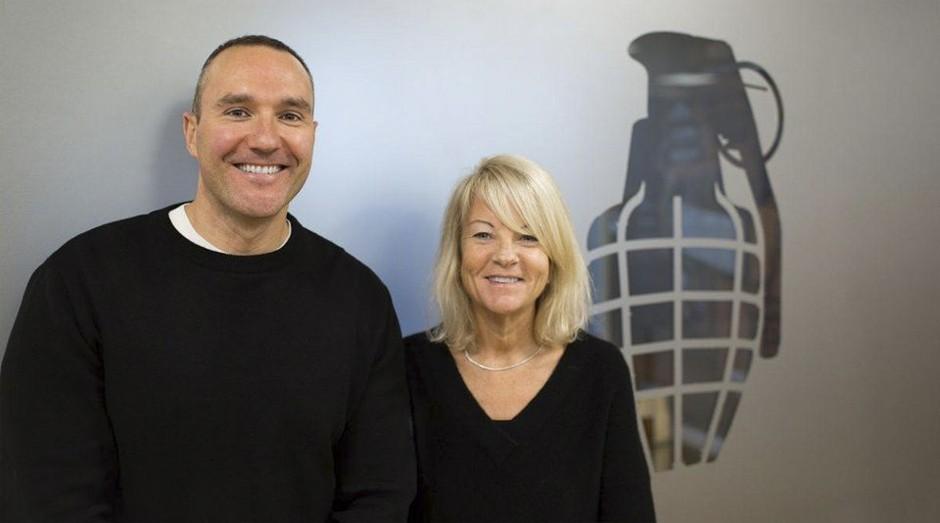 Alan e Juliet Barratt: eles usaram pouco dinheiro para abrir a empresa (Foto: Divulgação )