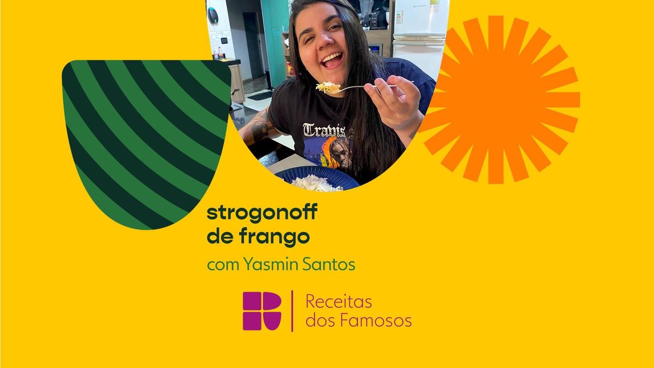 Yasmin Santos ensina a fazer Strogonoff de Frango