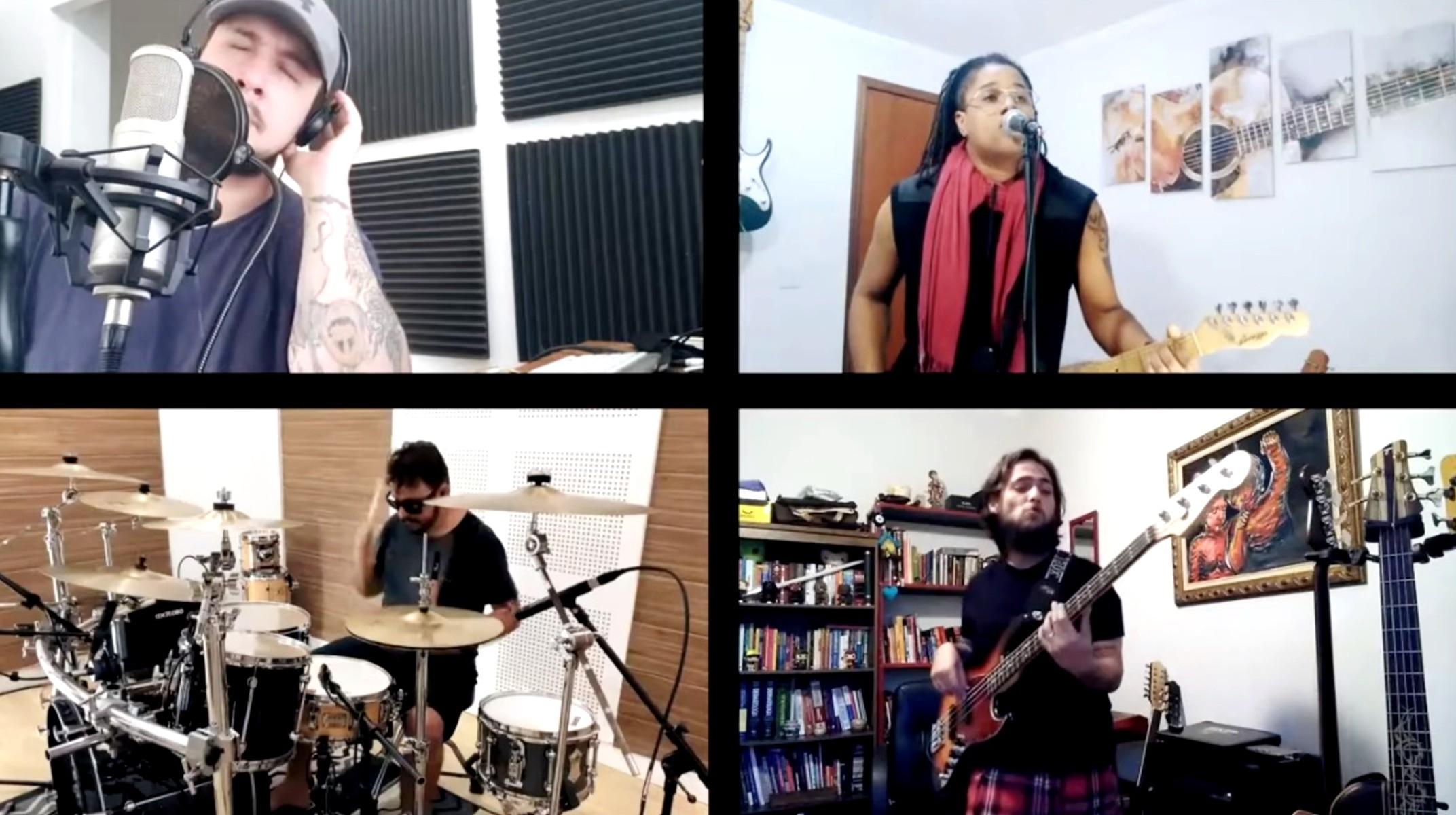 Músico de Bauru reúne amigos de reality para collab em homenagem ao Dia Mundial do Rock; veja o clipe