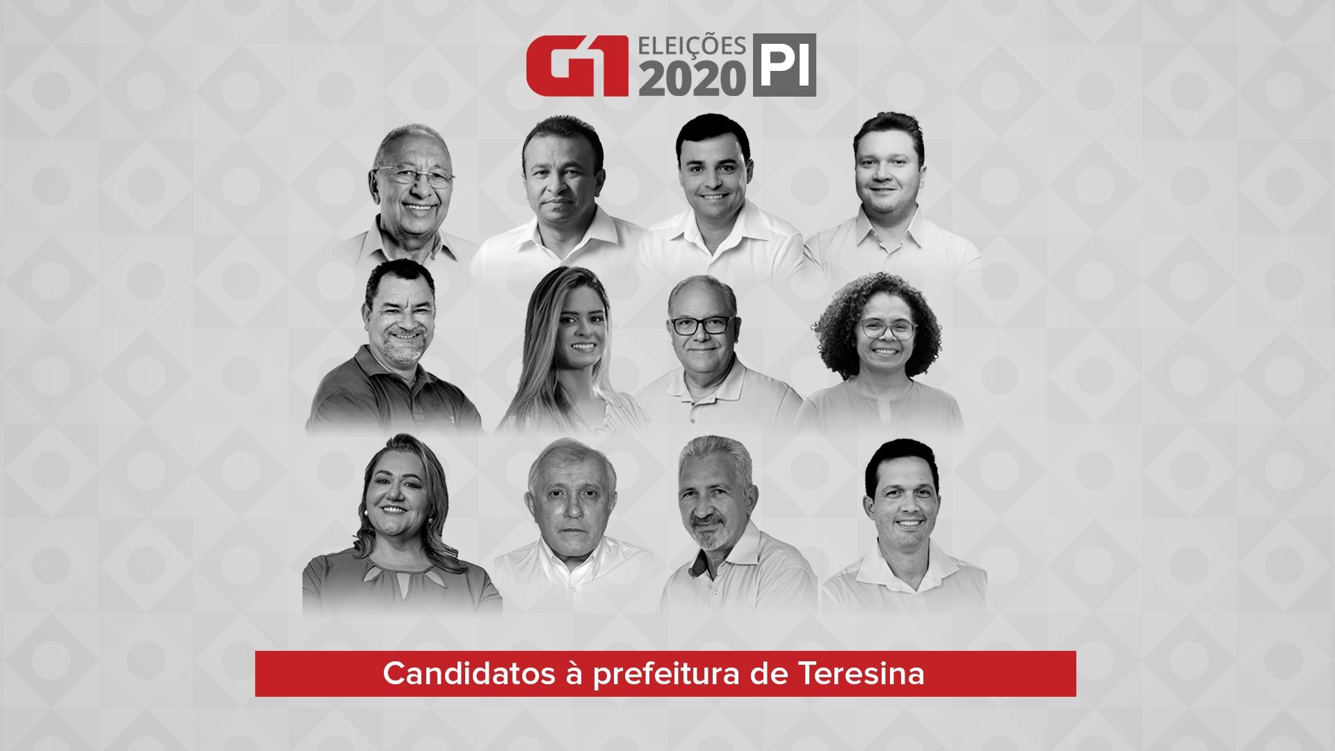 Eleições 2020: confira a agenda dos candidatos a prefeito de Teresina nesta quinta-feira (29)