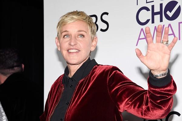 A apresentadora Ellen DeGeneres (Foto: Getty Images)