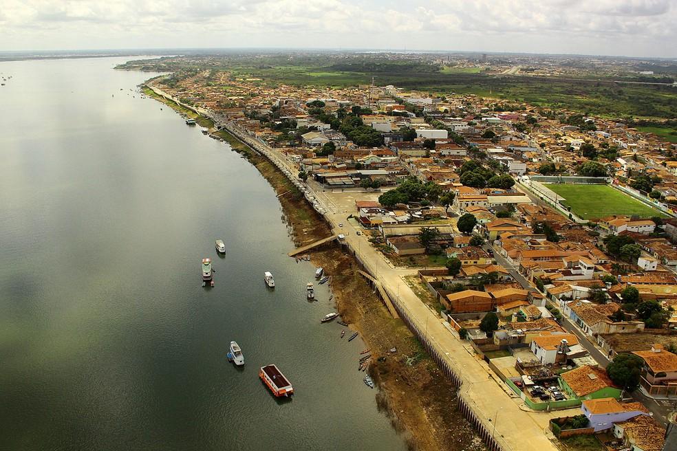 Cidade de Marabá é banhada pelos rios Tocantins e Itacaiúnas — Foto: Helder Messias/ O Liberal
