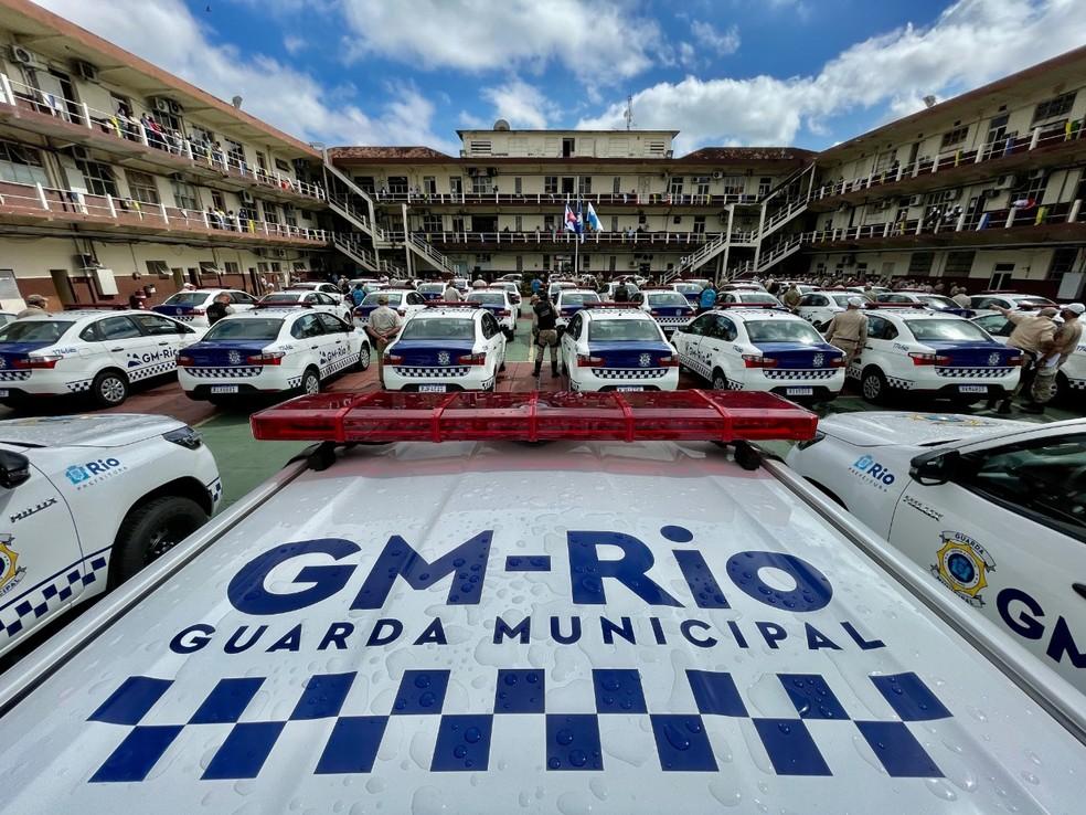 Guarda Municipal do Rio ganha nova frota com 211 viaturas— Foto: Divulgação
