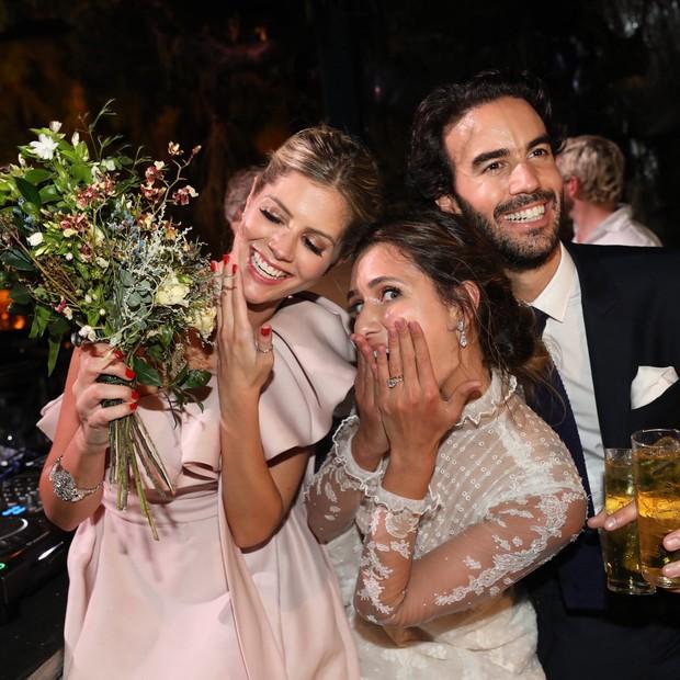 Lala Rudge, Juliana Carvalho e Antonio Bordon (Foto: Reprodução/ Instagram)