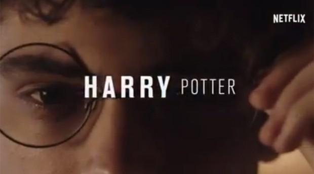 Netflix anunciando Harry Potter no catálogo: fake news (Foto: Divulgação)