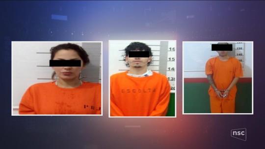 Polícia prende quadrilha que cooptava menores para o tráfico e mulheres para entrar com droga em presídio em SC