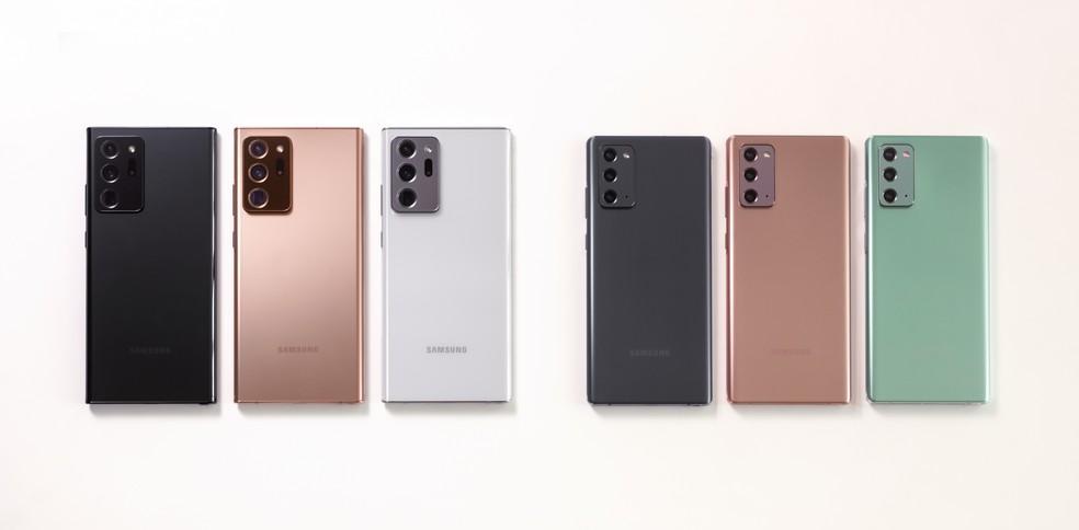 Samsung lança Galaxy Note 20 com telona e caneta; veja preço e ...