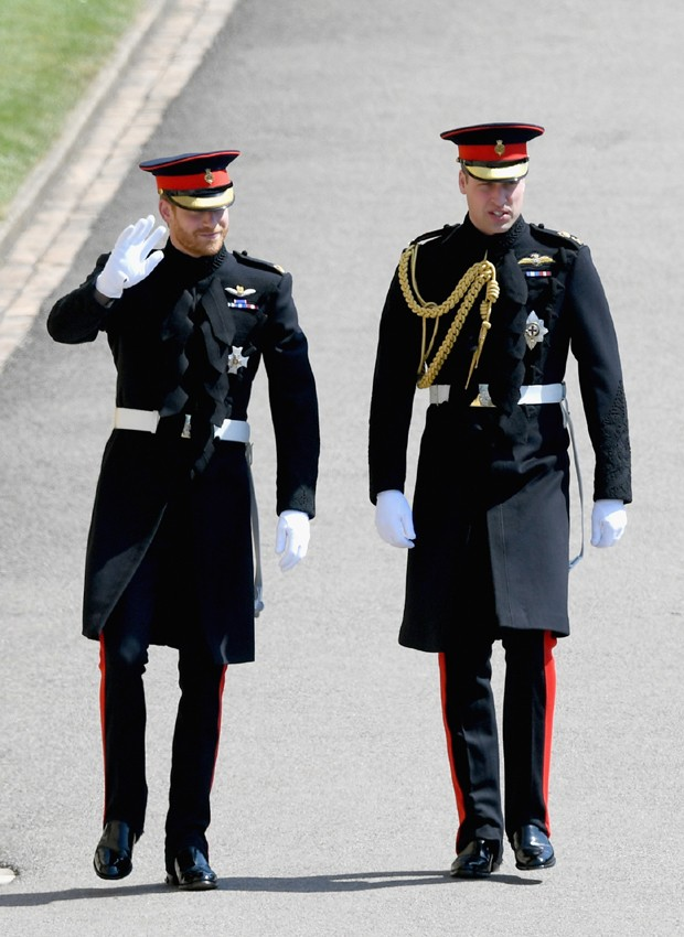 Príncipes Harry e William (Foto: Getty Images)