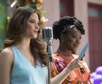 Juliana Paiva e Cris Vianna em 'O tempo não para' | Reprodução