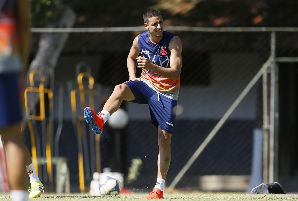... Thiago Galhardo é o provável titular do Vasco para enfrentar o Resende  — Foto  Rafael 58b2817f5430c