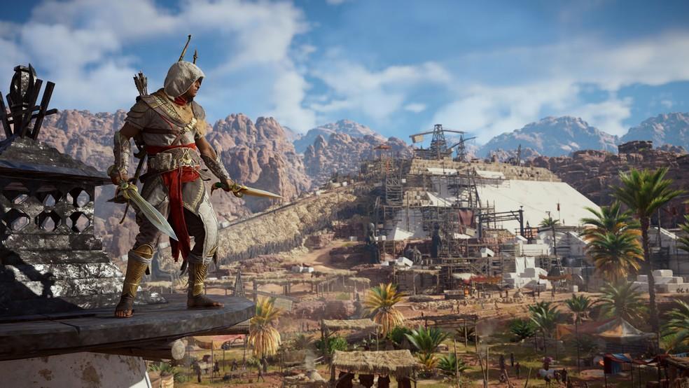 Bayek é o protagonista de 'Assassin's Creed Origins' (Foto: Divulgação)