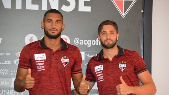 Atlético-GO apresenta mais dois novos reforços: Douglas e Carlos Jatobá