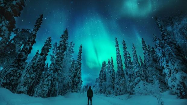 Northern lights, aurora boreal, Finlândia (Foto: Konsta Puukka/Visit Finland/Divulgação)