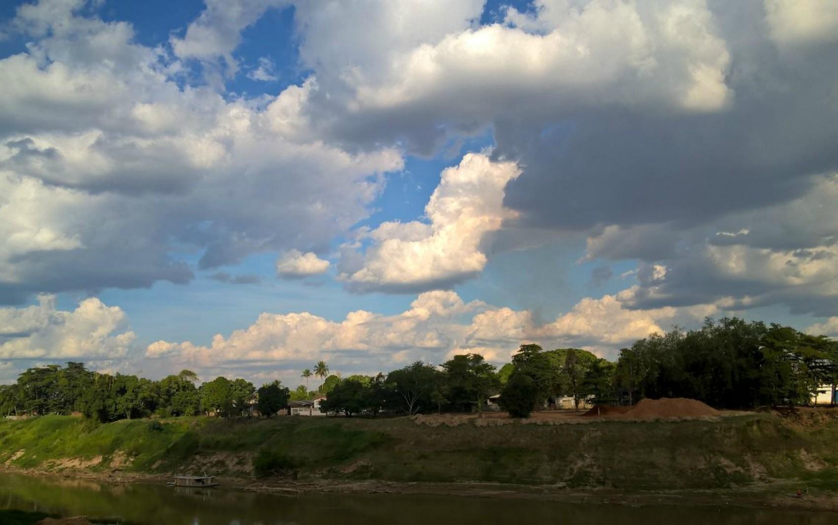 Tempo fica instável no Acre nesta segunda-feira (26) com sol entre nuvens, prevê Sipam