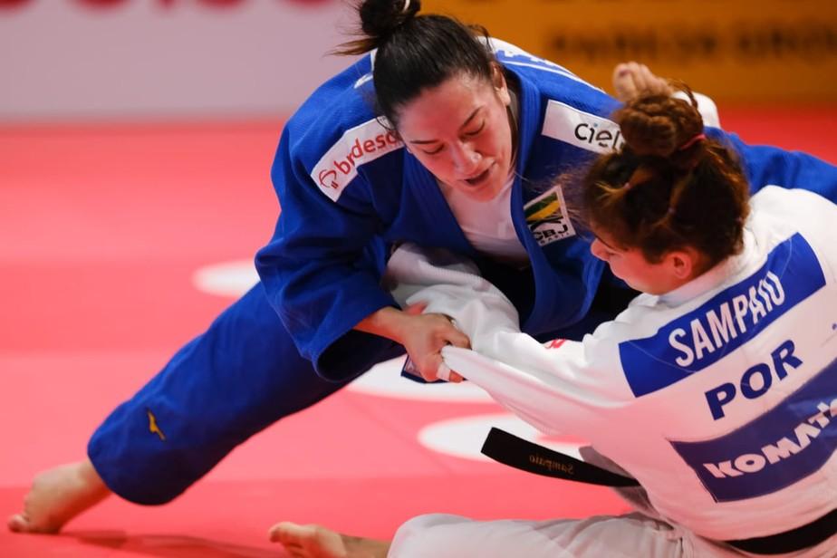 Mayra Aguiar conquista o bronze no Japão e chega à sua sexta medalha em mundiais de judô