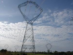 Linhão da eletronorte (Foto: Raimundo / Paccó)