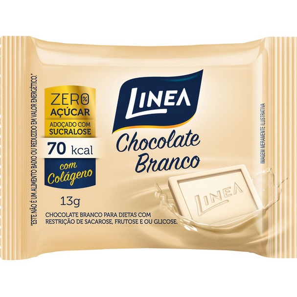 Chocolate Branco, Linea (Foto: Chocolate Branco, Linea)