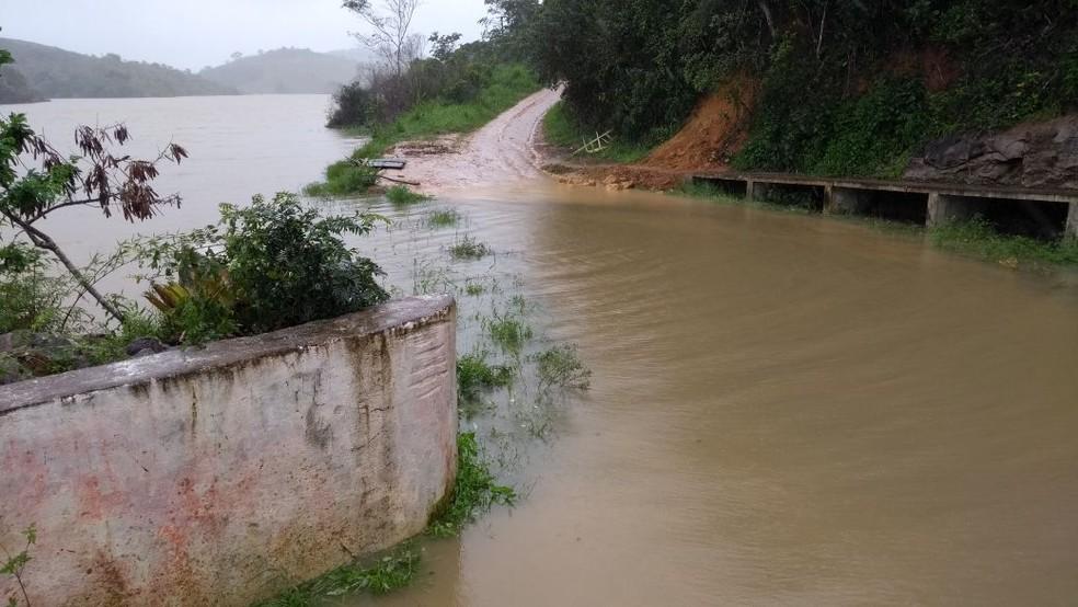 Reservatório estava em colapso desde janeiro deste ano (Foto: Divulgação/Compesa)