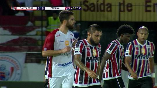 Melhores momentos: Santa Cruz 0 x 0 Paraná pela 36ª rodada da Série B do Brasileiro