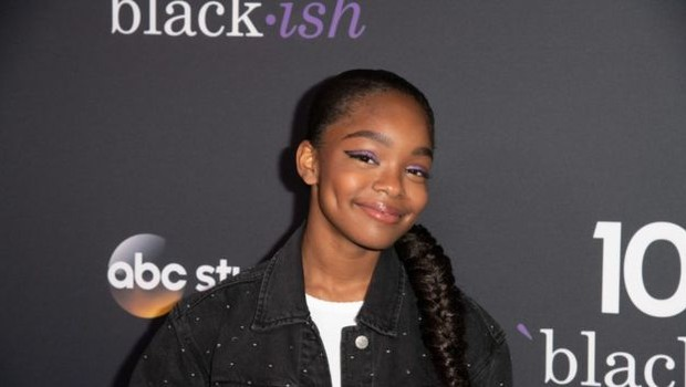 Marsai Martin, de 14 anos, é a mais jovem diretora executiva de Hollywood (Foto: Getty Images via BBC)