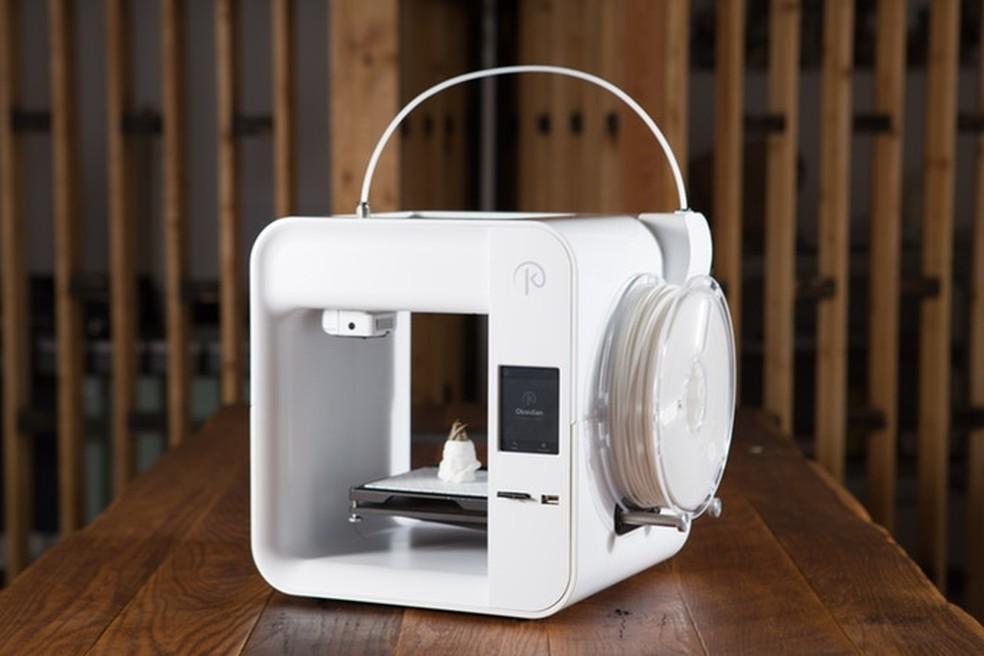 Obsidian Deluxe: impressora 3D tem design moderno e preço baixo (Foto: Divulgação/Kodama)