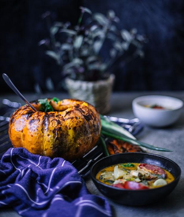 Palmito na moranga: receita deliciosa para fazer já! (Foto: Simplesmente)