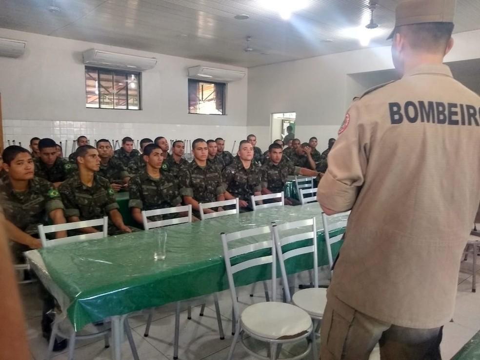 Treinamento encerrou no sábado (31) — Foto: Quésia Melo/Rede Amazônica