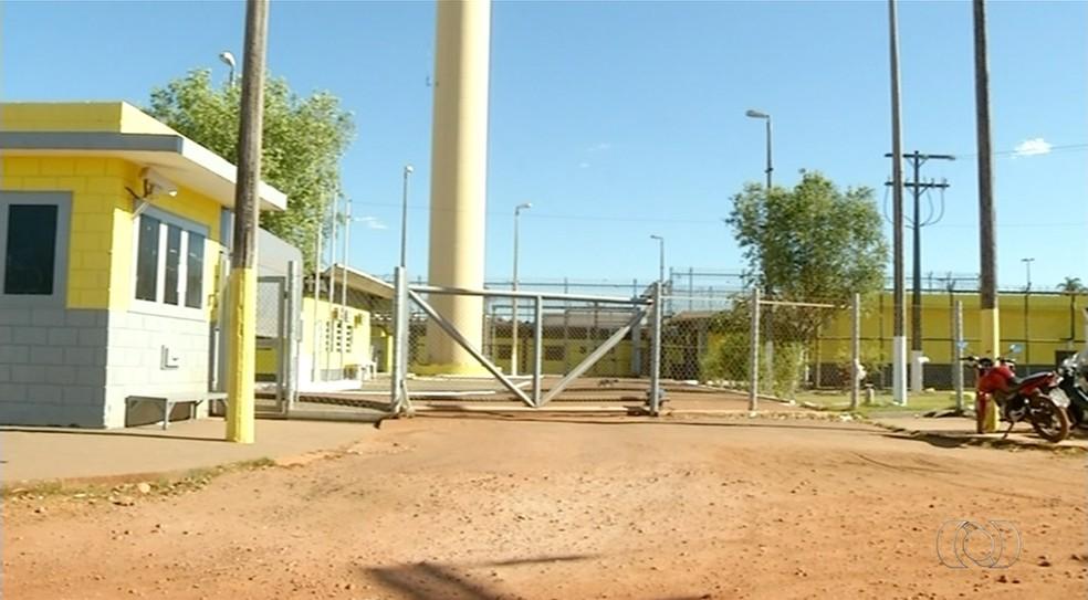 Presídio Barra da Grota tem mais de 440 detentos (Foto: Reprodução/TV Anhanguera)