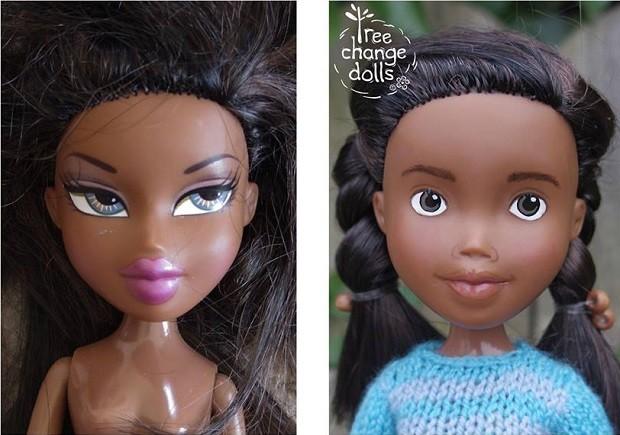 Bonecas do projeto Tree Change Dolls (Foto: Reprodução/Facebook)