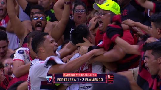 """Petkovic vê Flamengo cansado e diz: """"Acho que foi a pior partida nessa sequência fora de casa"""""""