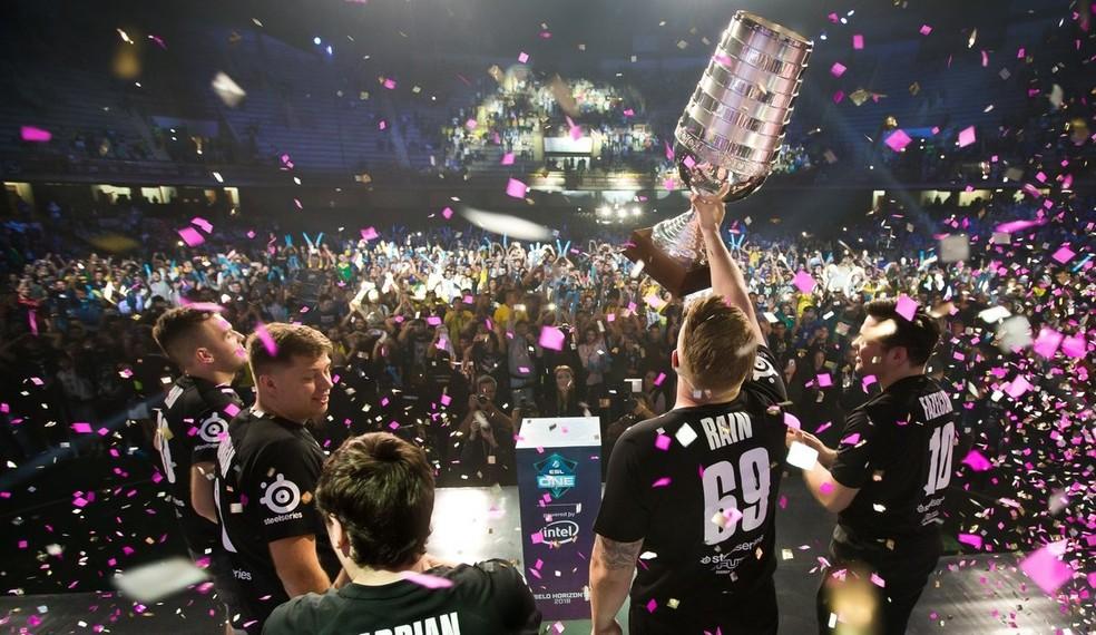 País também sediou grandes torneios nos últimos anos — Foto: Divulgação/ESL