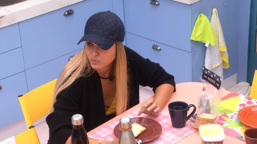 BBB21: Sarah desabafa sobre o jogo com Carla Diaz  — Foto: Globo