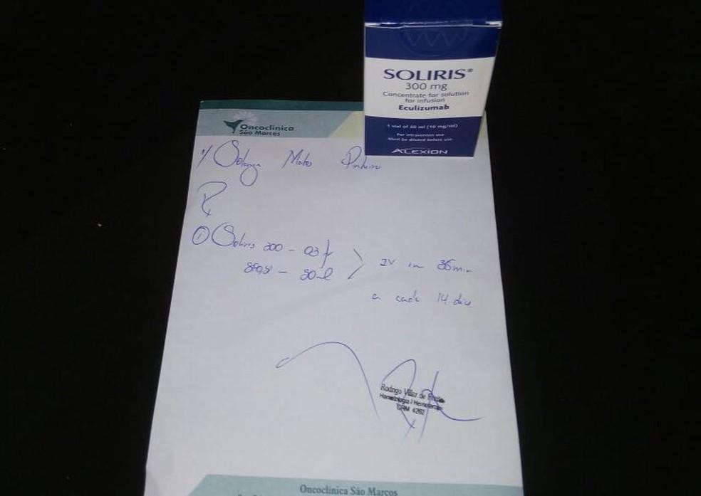 No RN, paciente estão preocupados por falta de distribuição de remédio para doença rara (Foto: Poliana Pinheiro)