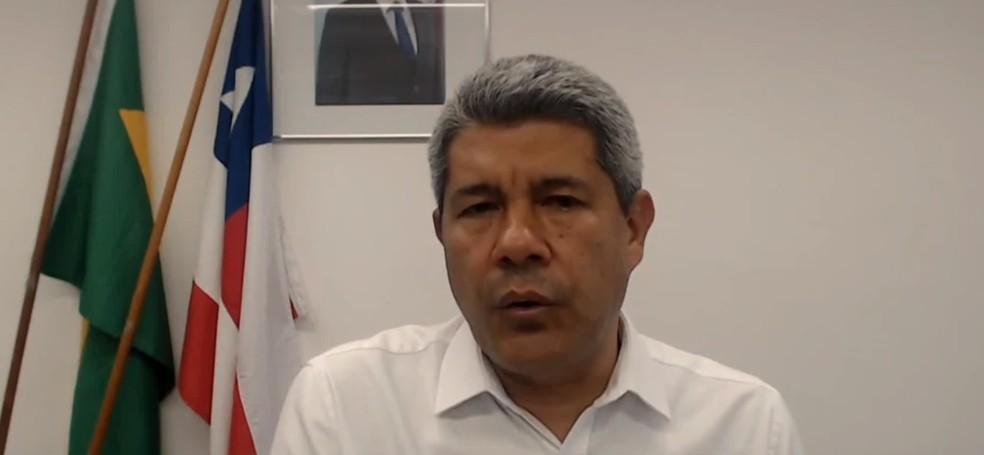 Secretario afirma que Bahia não tem condições de aulas presenciais — Foto: Reprodução / TV Bahia