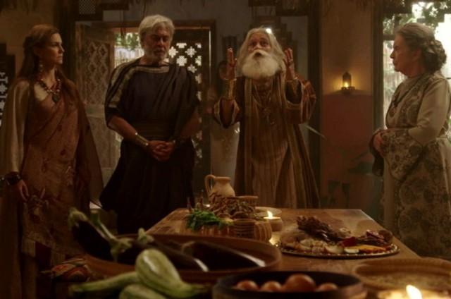 Cena de 'Gênesis' (Foto: Record)