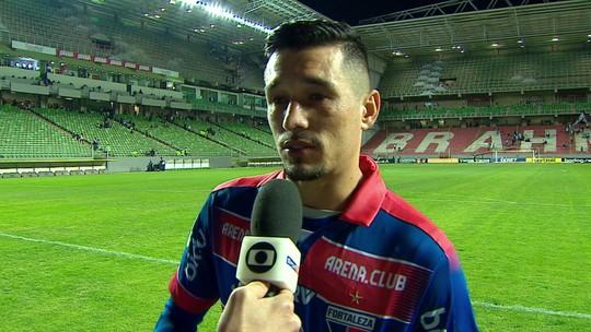 """Juninho faz """"golaço contra"""", empata, leva """"Craque do Jogo"""" e desabafa: """"Sentimento que estava atrapalhando"""""""