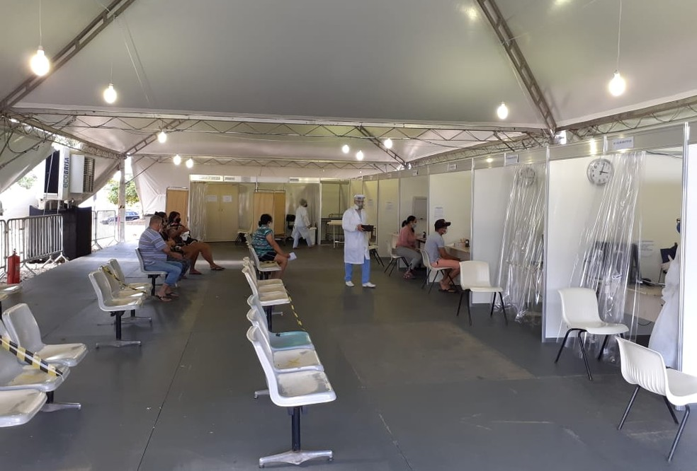 Centro de Triagem do Coronavírus, em Piracicaba — Foto: Divulgação/ Prefeitura de Piracicaba